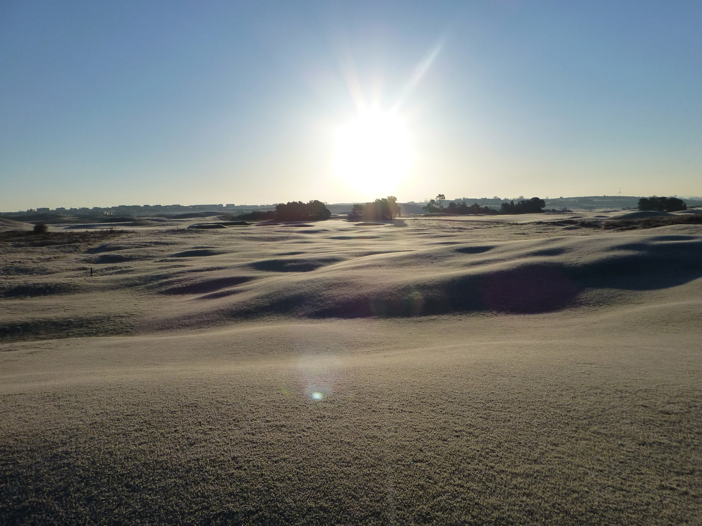 April-Frosty-13th-Strand-006_Porstewart-Golf-Club